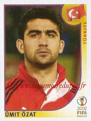 2002 - Panini FIFA World Cup Stickers - N° 191 - Umit OZAT (Turquie)