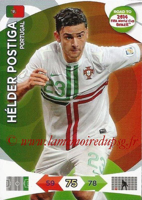2014 - Panini Road to FIFA World Cup Brazil Adrenalyn XL - N° 155 - Helder POSTIGA (Portugal)