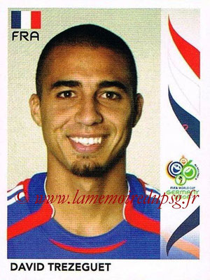2006 - Panini FIFA World Cup Germany Stickers - N° 470 - David TREZEGUET (France)