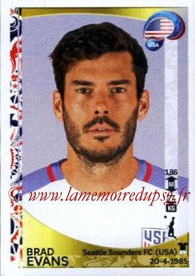 Panini Copa America Centenario USA 2016 Stickers - N° 023 - Brad EVANS (USA)