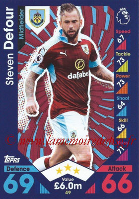 2016-17 - Topps Match Attax Premier League - N° 049