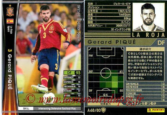 2012-13 - WCCF - N° A68 - Gerard PIQUE (Espagne)