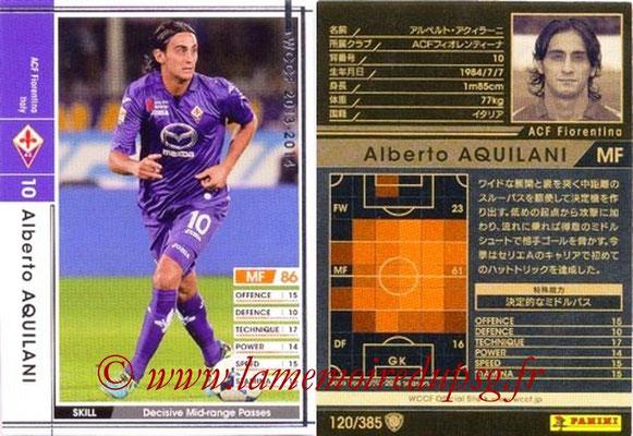 2013-14 - WCCF - N° 120 - Alberto AQUILANI (ACF Fiorentina)