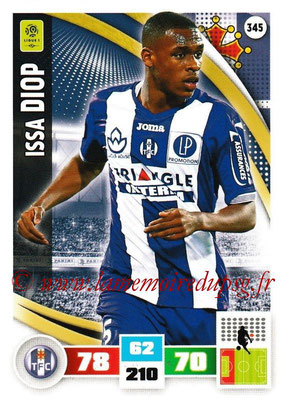 2016-17 - Panini Adrenalyn XL Ligue 1 - N° 345 - Issa DIOP (Toulouse)