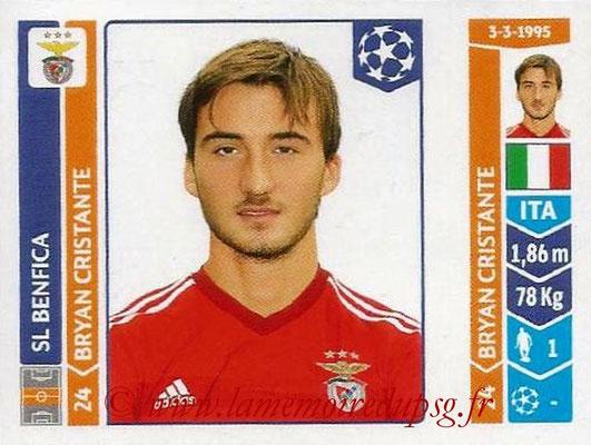 2014-15 - Panini Champions League N° 195 - Bryan CRISTANTE (SL Benfica)