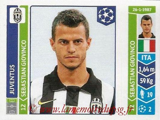 2014-15 - Panini Champions League N° 071 - Sebastian GIOVIN (Juventus Turin)