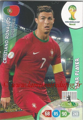 2014 - Panini FIFA World Cup Brazil Adrenalyn XL - N° 277 - Cristiano RONALDO (Portugal) (Star Player)
