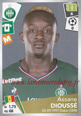2017-18 - Panini Ligue 1 Stickers - N° 426 - Assane DIOUSSE (Saint-Etienne)