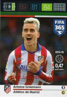 2015-16 - Panini Adrenalyn XL FIFA 365 - N° 160 - Antoine GRIEZMANN (Atlético de Madrid) (Goal Machine)
