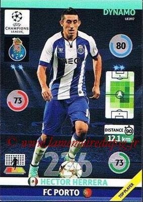 2014-15 - Adrenalyn XL champions League Update edition N° UE097 - Hector HERRERA (FC Porto) (Dynamo)