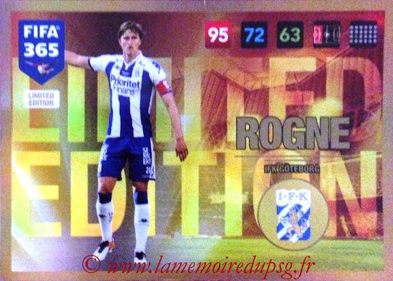 2016-17 - Panini Adrenalyn XL FIFA 365 - N° LE64 - Thomas ROGNE (IFK Goteborg) (Limited Edition)