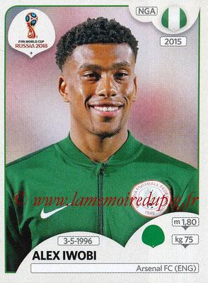 2018 - Panini FIFA World Cup Russia Stickers - N° 350 - Alex IWOBI (Nigeria)