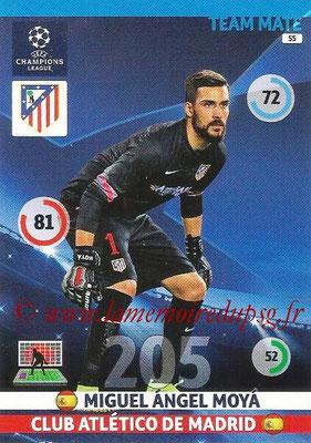 2014-15 - Adrenalyn XL champions League N° 055 - Miguel Angel MOYA (Atletico Madrid)