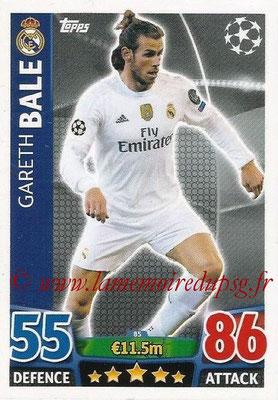 2015-16 - Topps UEFA Champions League Match Attax - N° 085 - Gareth BALE (Real Madrid CF)
