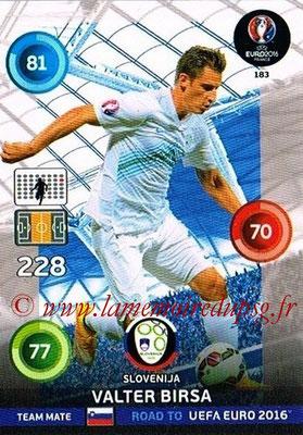Panini Road to Euro 2016 Cards - N° 183 - Valter BIRSA (Slovénie)