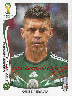 2014 - Panini FIFA World Cup Brazil Stickers - N° 086 - Oribe PERALTA (Mexique)
