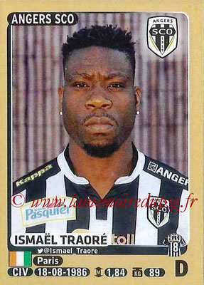 2015-16 - Panini Ligue 1 Stickers - N° 035 - Ismaël TRAORE (SCO Angers)
