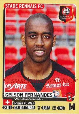 2015-16 - Panini Ligue 1 Stickers - N° 401 - Gelson FERNANDES (Stade Rennais FC)