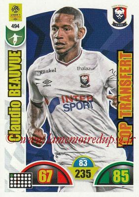 2018-19 - Panini Adrenalyn XL Ligue 1 - N° 494 - Claudio BEAUVUE (Caen) (Top Transfert)