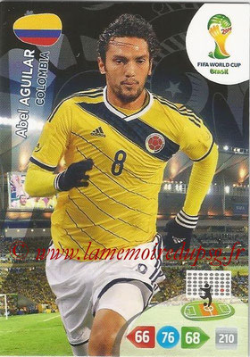2014 - Panini FIFA World Cup Brazil Adrenalyn XL - N° 082 - Abel AGUILAR (Colombie)