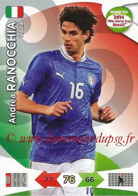 2014 - Panini Road to FIFA World Cup Brazil Adrenalyn XL - N° 119 - Andrea RANOCCHIA (Italie)