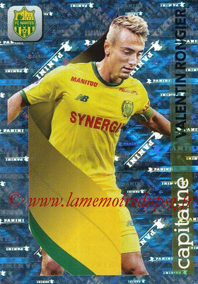 2018-19 - Panini Ligue 1 Stickers - N° 297 - Valentin RONGIER (Nantes) (Capitaine)