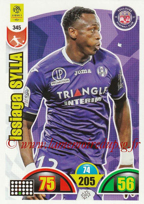 2018-19 - Panini Adrenalyn XL Ligue 1 - N° 345 - Issiaga SYLLA (Toulouse)