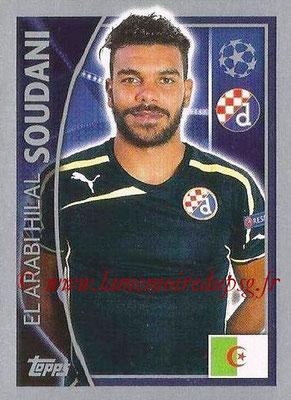 2015-16 - Topps UEFA Champions League Stickers - N° 432 - El Arabi Hilal SOUDANI (GNK Dinamo Zagreb)