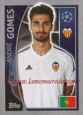 2015-16 - Topps UEFA Champions League Stickers - N° 560 - André GOMES (FC Valence)
