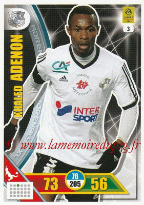 2017-18 - Panini Adrenalyn XL Ligue 1 - N° 003 - Khaled ADENON (Amiens)