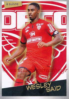 2017-18 - Panini Ligue 1 Stickers - N° 128 - Wesley SAÏD (Dijon) (A suivre)