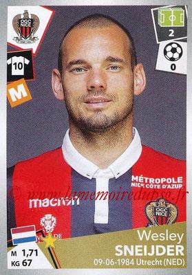2017-18 - Panini Ligue 1 Stickers - N° 352 - Wesley SNEIJDER (Nice)