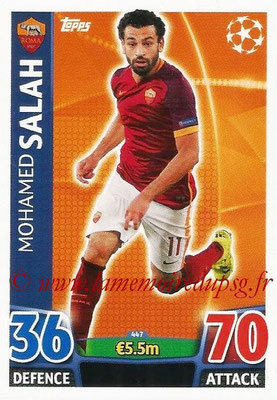 2015-16 - Topps UEFA Champions League Match Attax - N° 447 - Mohamed SALAH (AS Roma)
