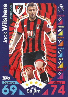 2016-17 - Topps Match Attax Premier League - N° 008