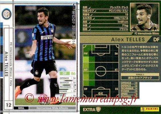 2015-16 - Panini WCCF - N° EXT14d - Alex TELLES (FC Inter Milan) (Extra)