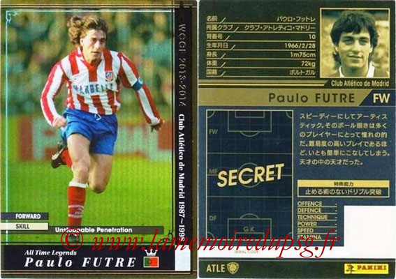 2013-14 - WCCF - N° ATLE10 - Paulo FUTRE (Atletico Madrid) (All Time Legend)