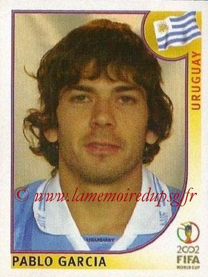2002 - Panini FIFA World Cup Stickers - N° 070 - Pablo GARCIA (Uruguay)
