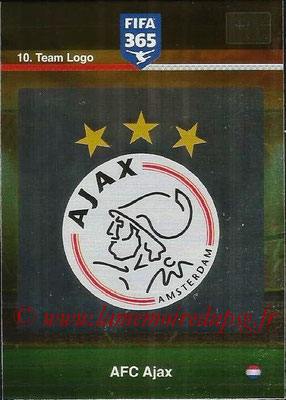 2015-16 - Panini Adrenalyn XL FIFA 365 - N° 010 - Ecusson AFC Ajax (Team Logo)