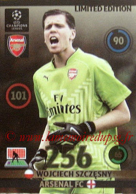 2014-15 - Adrenalyn XL champions League N° LE-WO - Wojciech SZCZESNY (Arsenal FC) (Limited Edition)