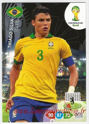 N° 051 - Thiago SILVA (2012-??, PSG > 2014, Brésil)