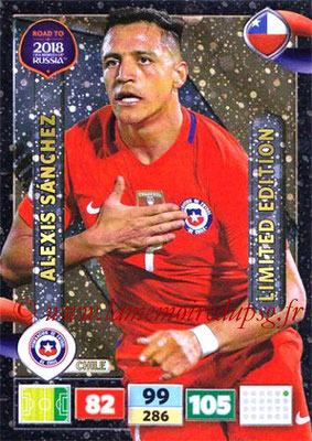 2018 - Panini Road to FIFA World Cup Russia Adrenalyn XL - N° LE-ASA - Alexis SANCHEZ (Chili) (Limited Edition)