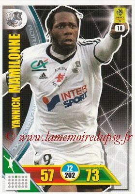 2017-18 - Panini Adrenalyn XL Ligue 1 - N° 018 - Yannick MAMILONNE (Amiens)
