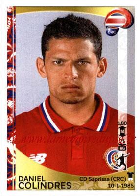 Panini Copa America Centenario USA 2016 Stickers - N° 083 - Daniel COLINDRES (Costa Rica)