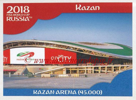2018 - Panini FIFA World Cup Russia Stickers - N° 010 - Kazan Arena, Kazan (Stades et Villes)