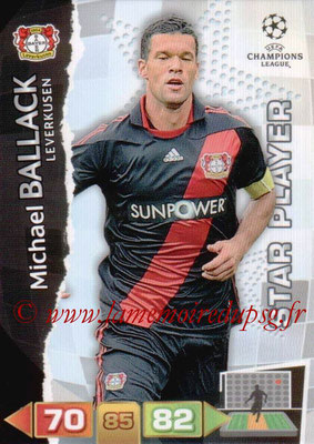 2011-12 - Panini Champions League Cards - N° 051 - Michael BALLACK (Bayer 04 Leverkusen)