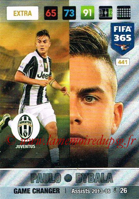 2016-17 - Panini Adrenalyn XL FIFA 365 - N° 441 - Paulo DYBALA (Juventus FC) (Game Changer) (Nordic Edition)
