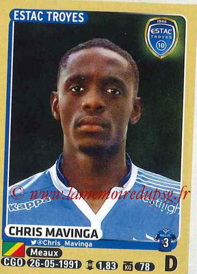 2015-16 - Panini Ligue 1 Stickers - N° 464 - Chris MAVINGA (ESTAC Troyes)