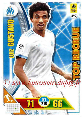 2017-18 - Panini Adrenalyn XL Ligue 1 - N° 499 - Luiz GUSTAVO (Marseille) (Top Recrue)