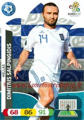 Panini Euro 2012 Cards Adrenalyn XL - N° 100 - Dimitris SALPINGIDIS (Grèce)