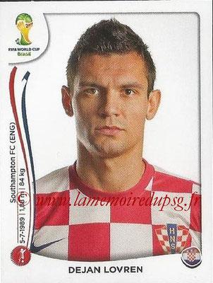 2014 - Panini FIFA World Cup Brazil Stickers - N° 057 - Dejan LOVREN (Croatie)